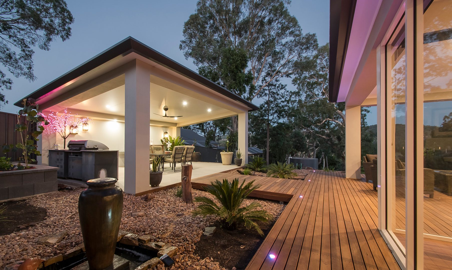 Creative-Outdoors-Skillion-Pavilion-with-Insulated-Roof-in-Blackwood-1