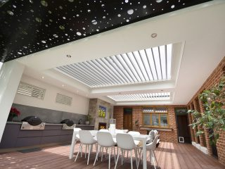 Creative Outddors Louvre Roof Pavilion in Unley