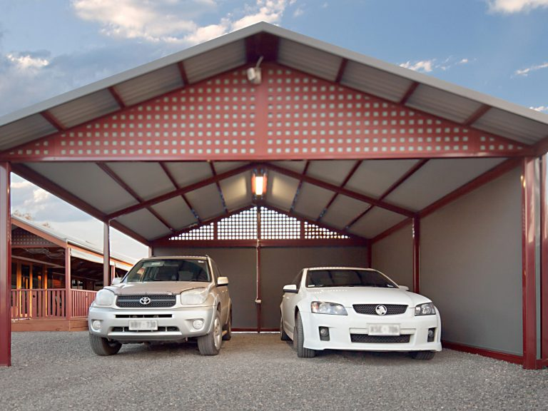 Creative Outdoors Colorbond Double Carport