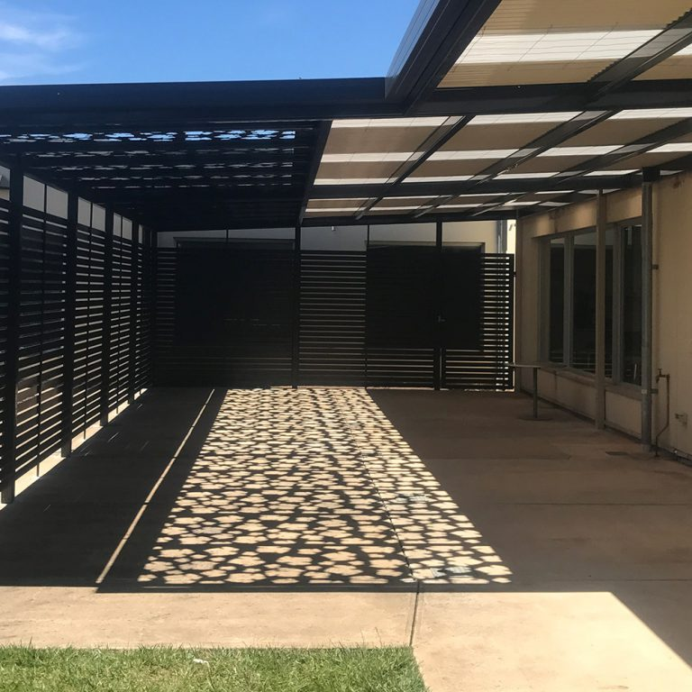 Wolf Blass Winery Patio Designed and built by Creative Outdoors