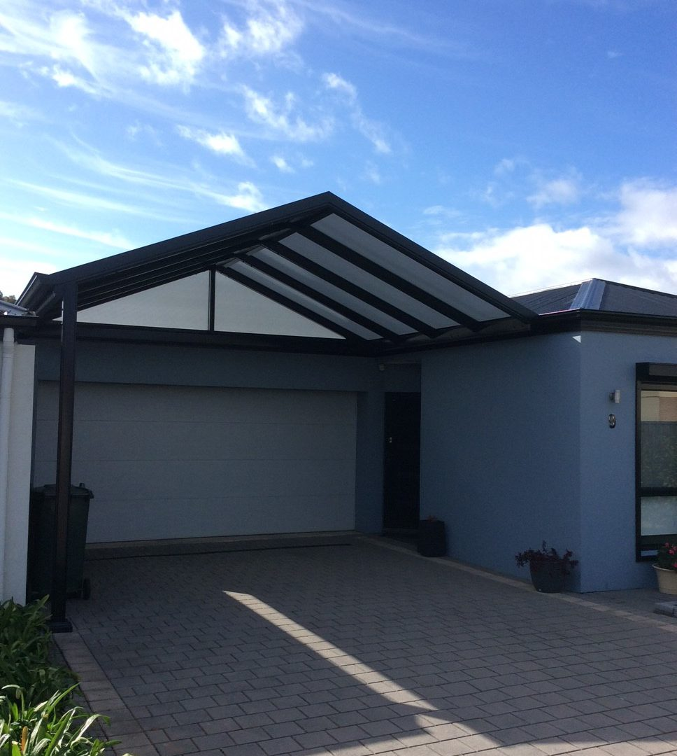 8-Carport-Gable-with-Multi-wall-Polycarbonate-Roofing