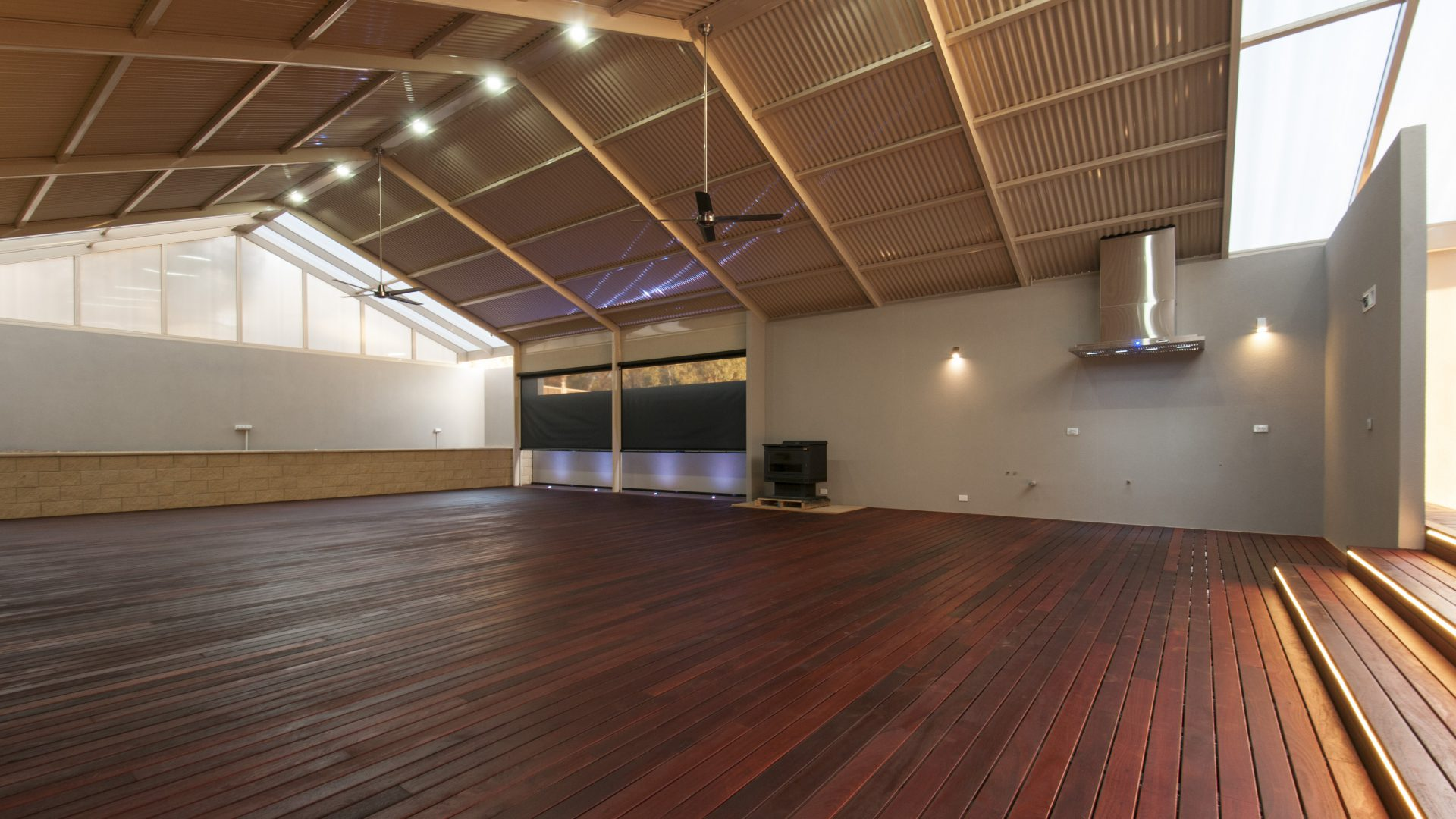 14-Wall-lights-decking-uplights-and-LED-downlights-scaled