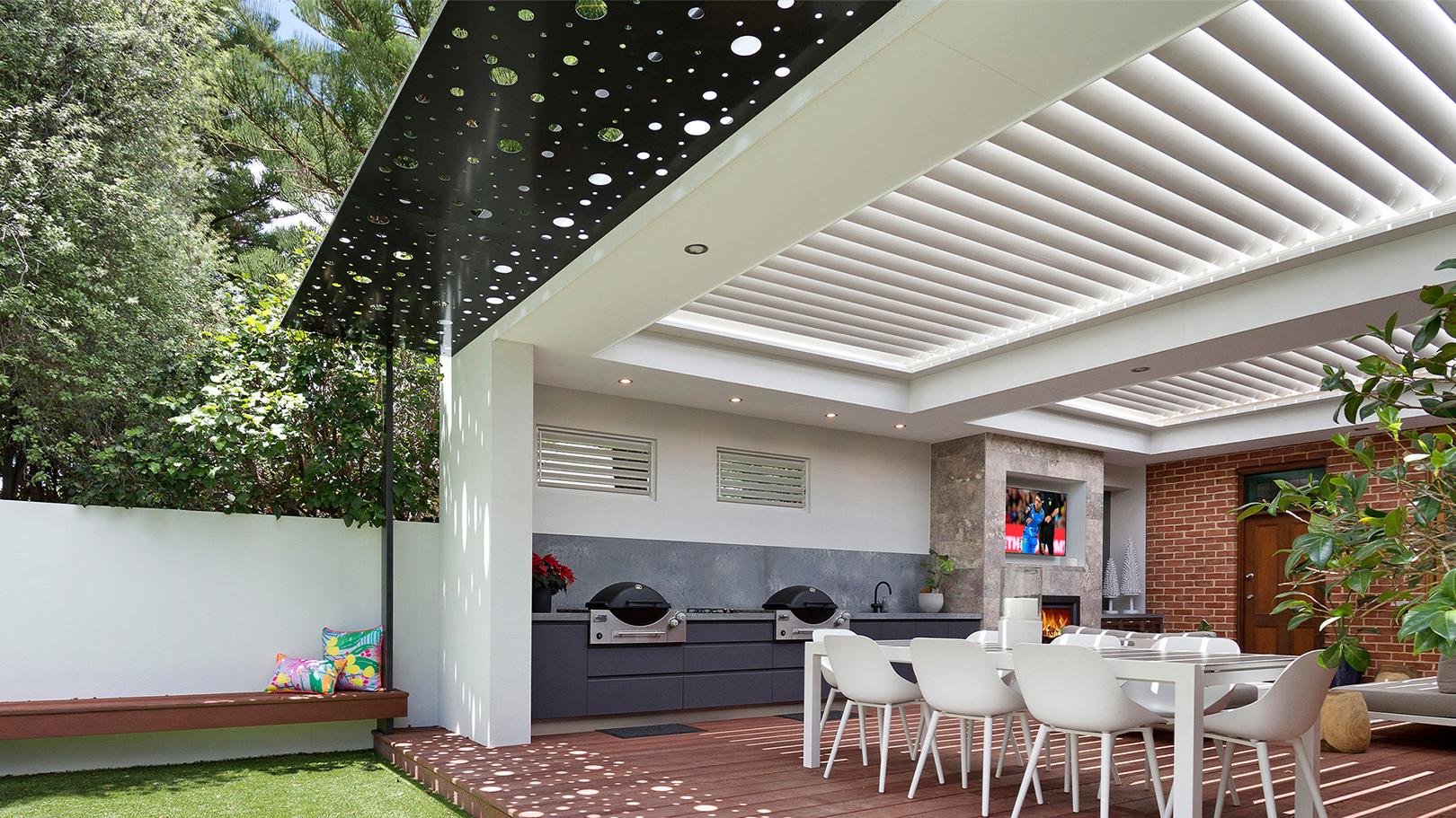Laser-roof-bubbles